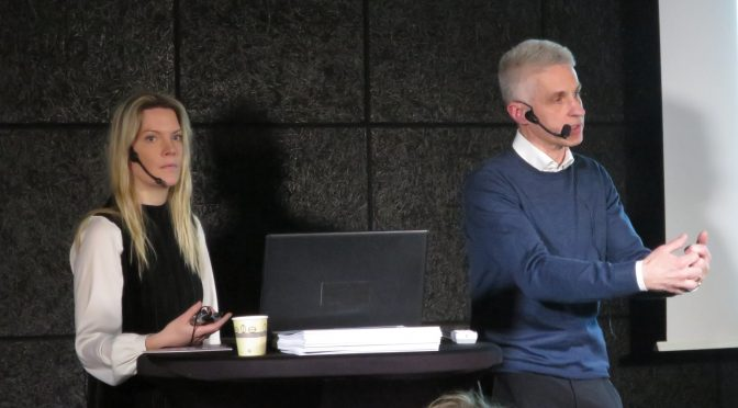 瑞典企业家精神与小企业研究所ESBRI举行企业发展讲座
