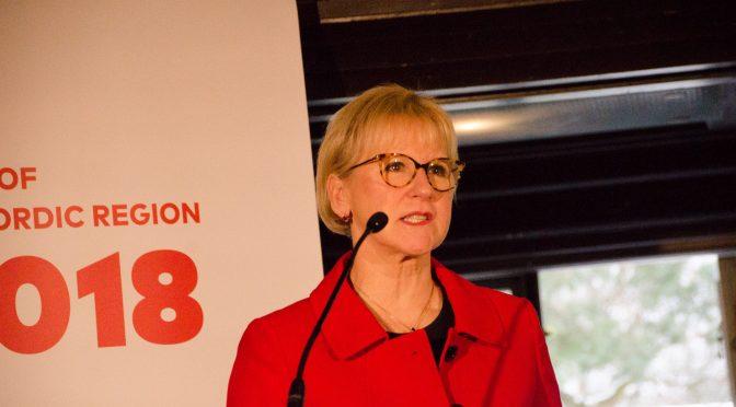 北欧理事会部长出席《北欧地区状况》报告发布会