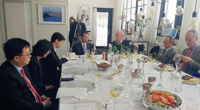 桂从友大使访问斯德哥尔摩哈马碧生态城