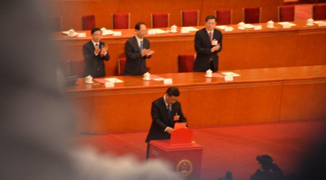 两会视频:习近平当选为国家主席军委主席全过程,历史上最重要的一天