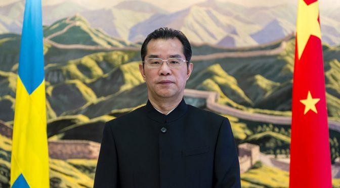 Gui Congyou: Kina och Sverige bör samarbeta inom BRI