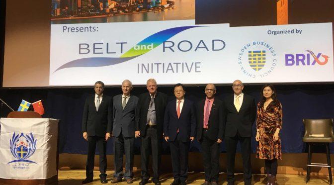 视频:桂从友大使出席一带一路高峰论坛和BRIX成立大会