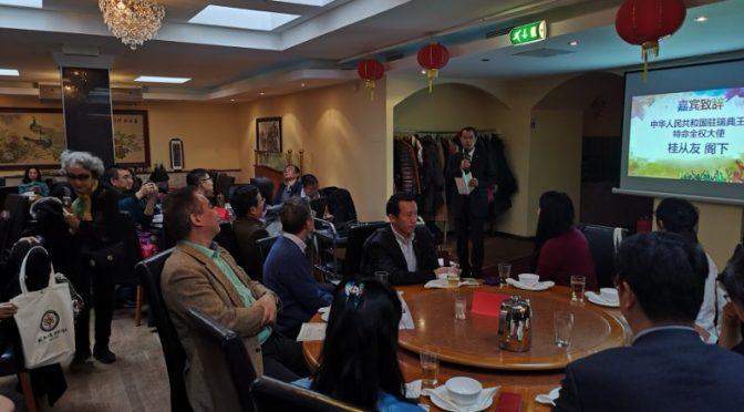 今日头条:桂从友大使出席瑞典华人联合会十周年庆典活动