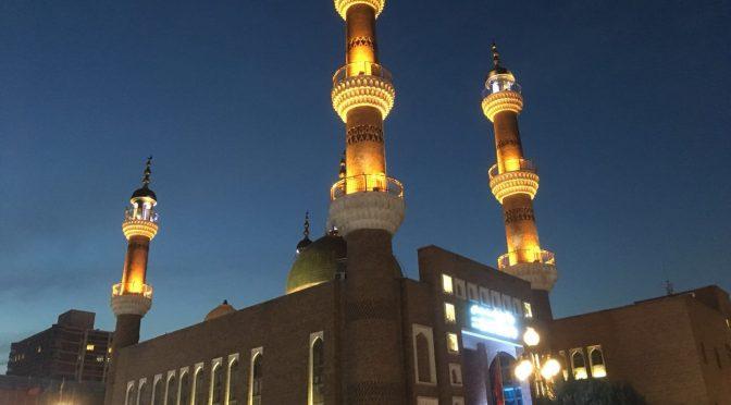 Utländska journalister besöker Xinjiang-serien (5) Urumqi International Grand Bazaar