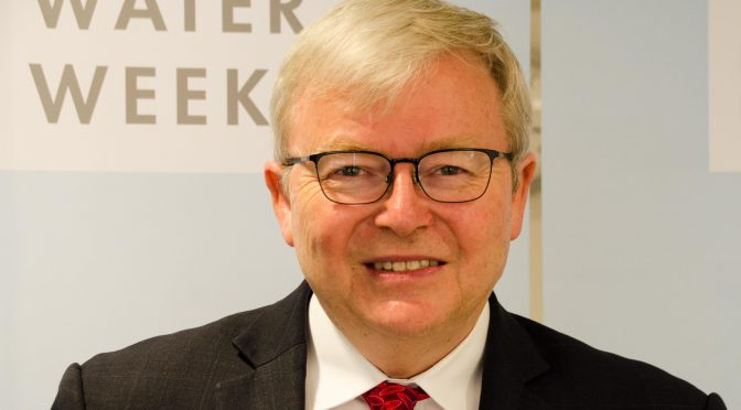 Kevin Rudd: China's Economic Reforms Cannot, Should Not Stop