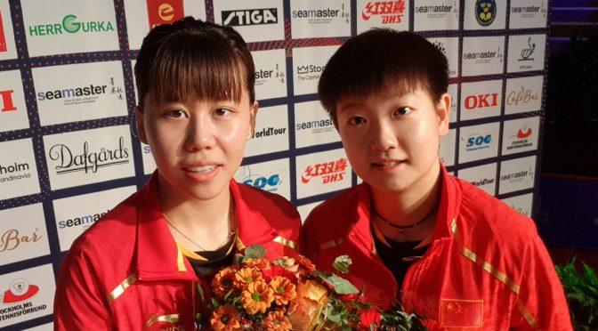 今日头条:乒坛老将刘国梁带队参加瑞典公开赛夺得男子单打冠军,女子双打冠军