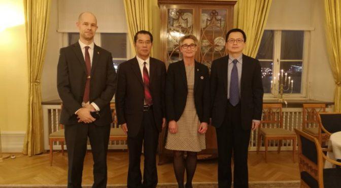 桂从友大使访问瑞典西哥特兰省