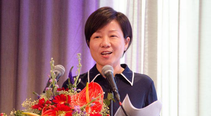 湖北省推出三位女副市长在瑞典推介自己的城市