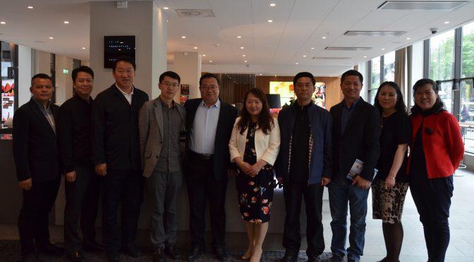 辽宁本溪副市长任尊严一行访问世界著名审计公司普华永道瑞典事务所
