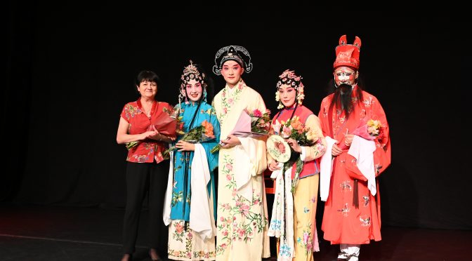 著名昆曲曲目《牡丹亭》和《白蛇传》在斯德哥尔摩上演吴江燕和肖向平领衔主演