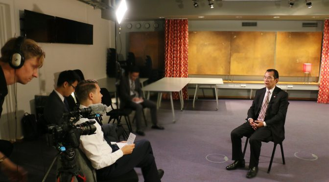 Chinese Ambassador Gui Congyou Gives Exclusive Interview with SVT on Media Exchanges and the Case of Sayragul Sauytbay