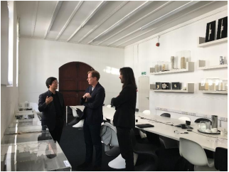 北欧集团曹侃董事长访问世界著名建筑事务所