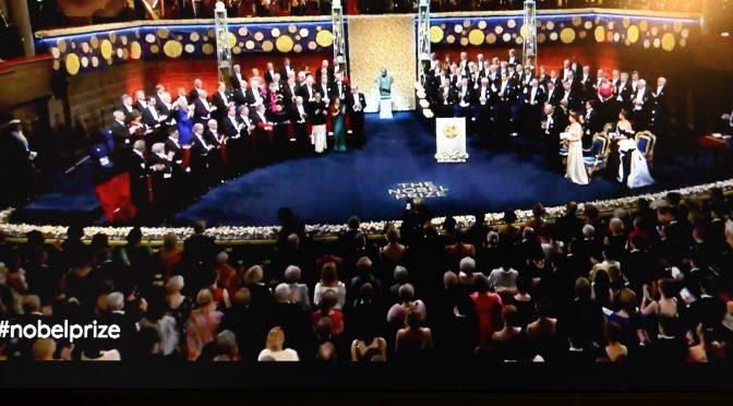 今日头条:诺贝尔医学物理化学经济学奖颁奖仪式在斯德哥尔摩音乐厅隆重举行