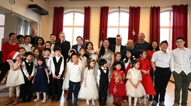 庆祝ECCE中欧国际文化教育商贸发展协会成立七周年圣诞音乐会成功举办