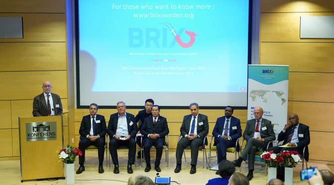 High-level BRIX Seminar : The New Africa Emerges along the Belt & Road