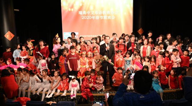 桂从友大使出席第五届斯京儿童春晚并给予高度评价