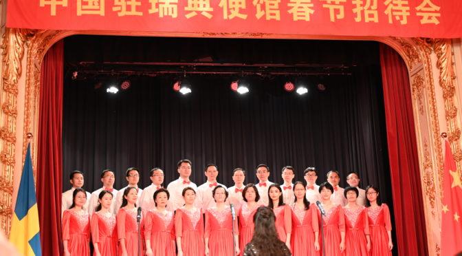 中国驻瑞典大使馆举办2020年新春招待会