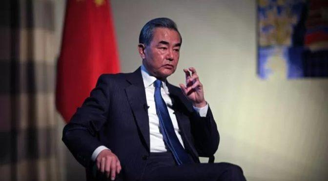 专访:国务委员兼外长王毅在柏林接受路透社副总编加洛尼专访