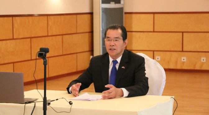桂从友大使就中欧、中瑞经贸投资合作和防控抗疫接受瑞典日报专访