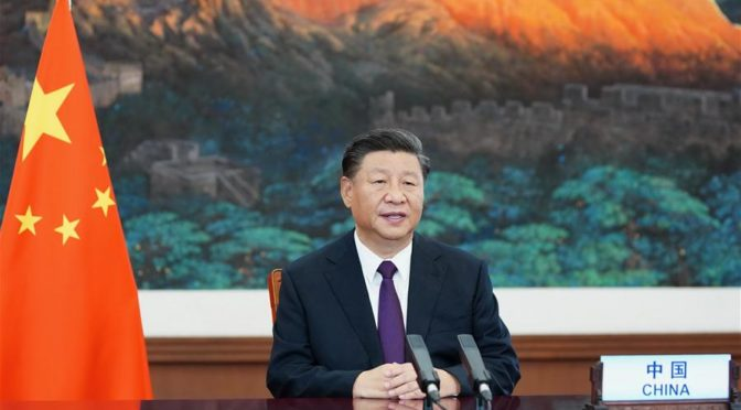 President Xi stresses peaceful development and win-win solution