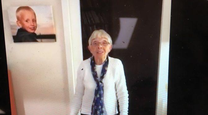 山西五寨1933年出生的瑞典老奶奶向你们问好