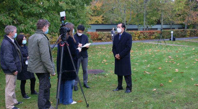 今日头条:桂从友大使就瑞典5G建设涉中方企业有关问题接受瑞典电视台专访