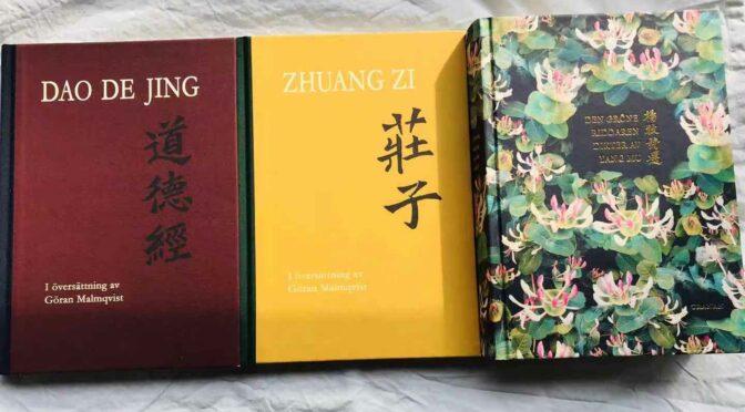 中国古典文化助力抗疫(下)–马悦然生前翻译的中国古典译著《庄子》在瑞典出版发行