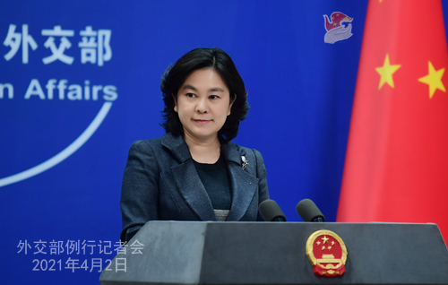 华春莹:上海合作组织秘书长诺罗夫等20多国外交官访问新疆