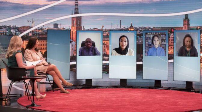 斯德哥尔摩论坛讨论社交媒体的作用