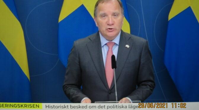 今日头条:瑞典首相辞职   政局或许有大变动