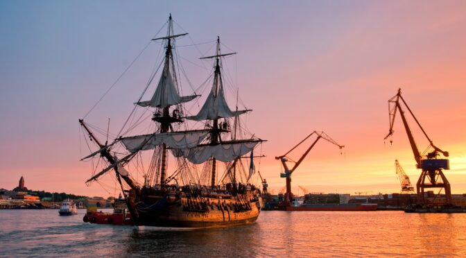 瑞典哥德堡号商船将于明年再次起航去中国
