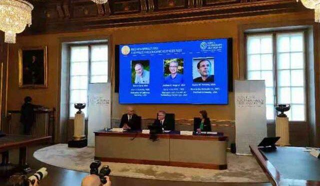 三名经济学家分享2021年诺贝尔经济学奖